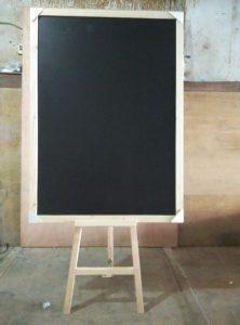 blackboard cafe stand tripot