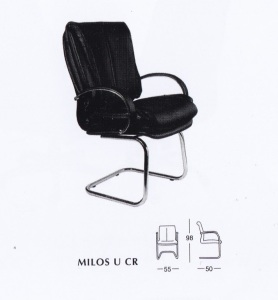 Kursi hadap MILOS-U-CR-278x300