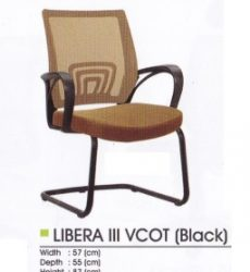 Kursi Hadap Donati Libera III VCOT Black
