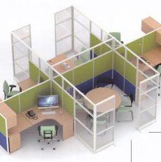 Partisi-Kantor-Uno-12-Series-Premium-4-Staff-dan-meting-300x232