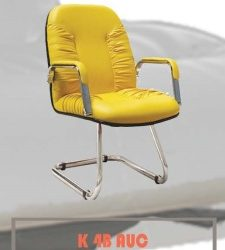 Merek : Carrera Tipe : K4B AUC Bahan : Oscar/Fabric Description : Cantilever Chrome Chrome Armrest