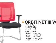 Kursi Hadap Ichiko Orbit Net III VCR